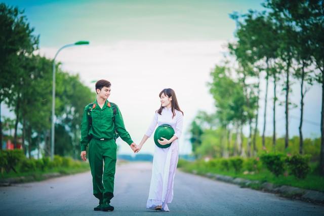 Bộ ảnh tình yêu người Lính đẹp và lãng mạn nhất