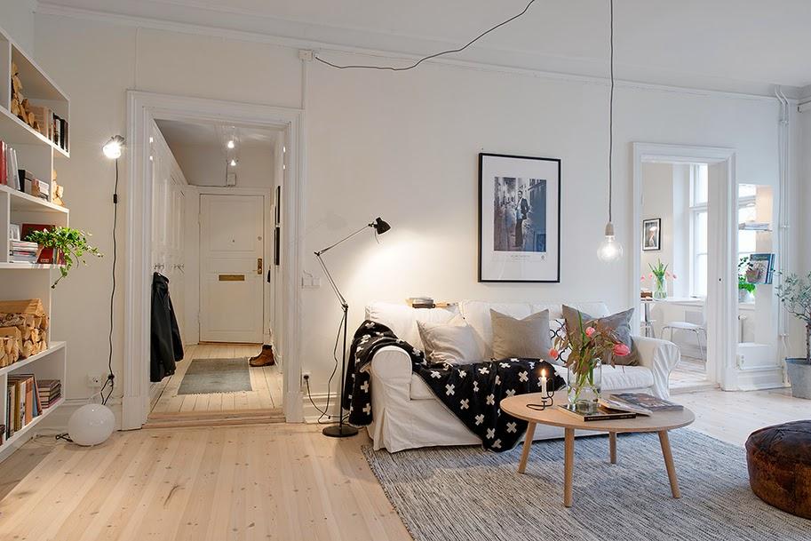 inspiration un appartement cosy tite asuka. Black Bedroom Furniture Sets. Home Design Ideas