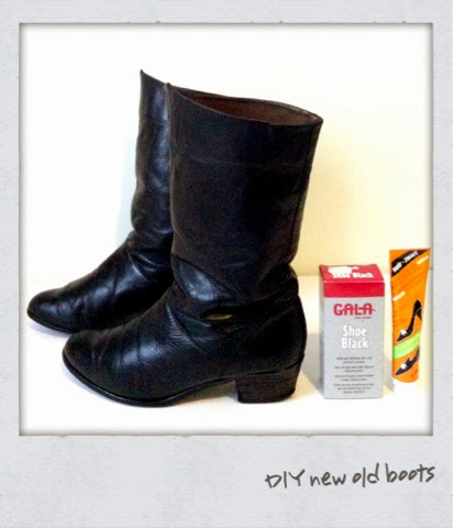 DIY new old boots