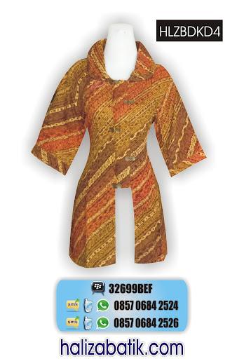 grosir batik pekalongan, Baju Seragam, Model Blus, Blus Batik