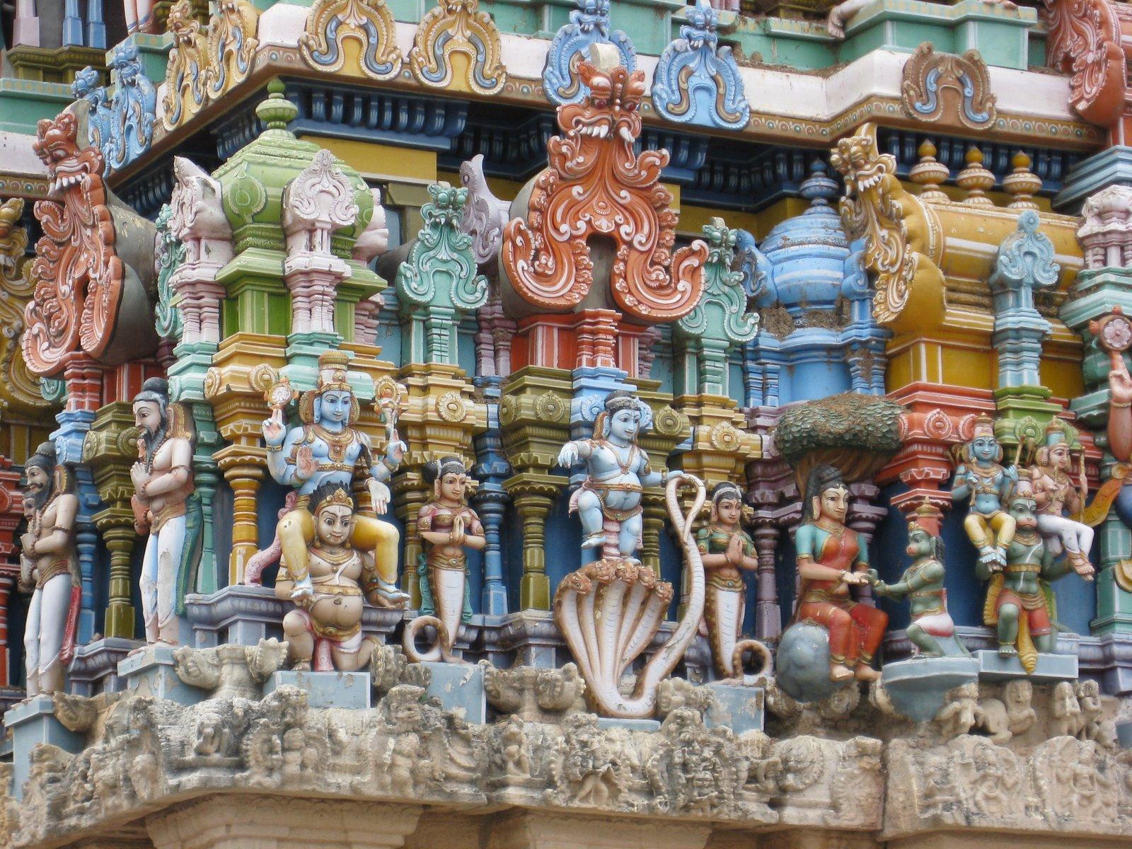 Sri Vijayaasana Perumal - Thiru Varagunamangai (Naththam), Nava Tirupathi - Nine Holy Temples