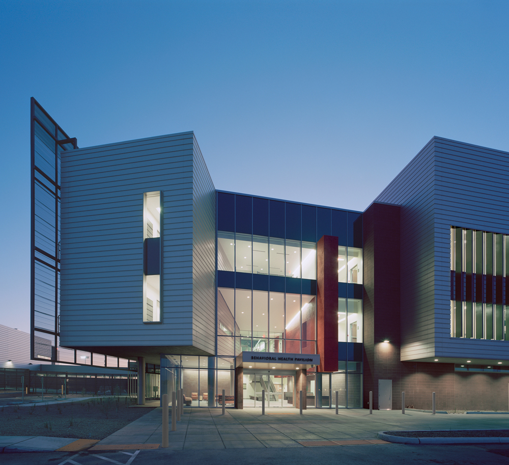 University of Arizona Medical Center South Campus design by  Cannon Design + CDG Architects