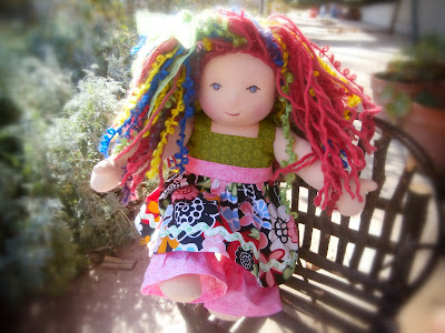 "14"" Custom Waldorf Doll"
