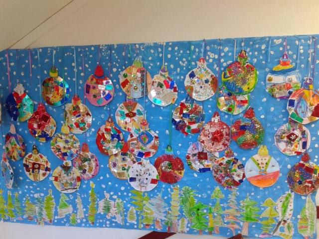 Aula de infantil mural de navidad - Murales decorativos de navidad ...