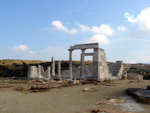 Naxos, Tempio di Demetra