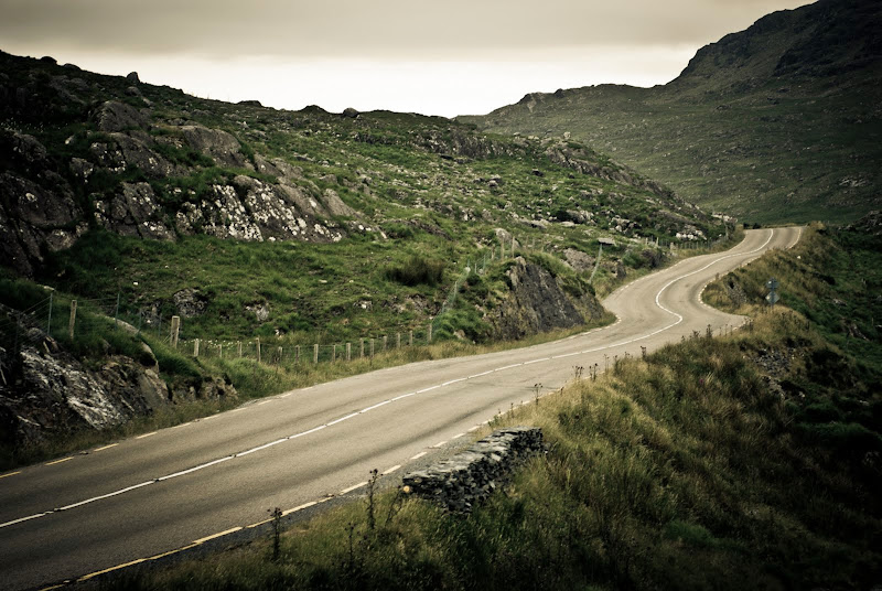 Ring of Kerry -- Kerry Mountain Road..