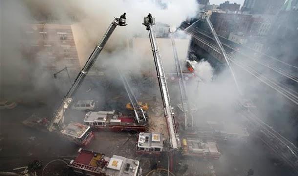 NYC gas blast