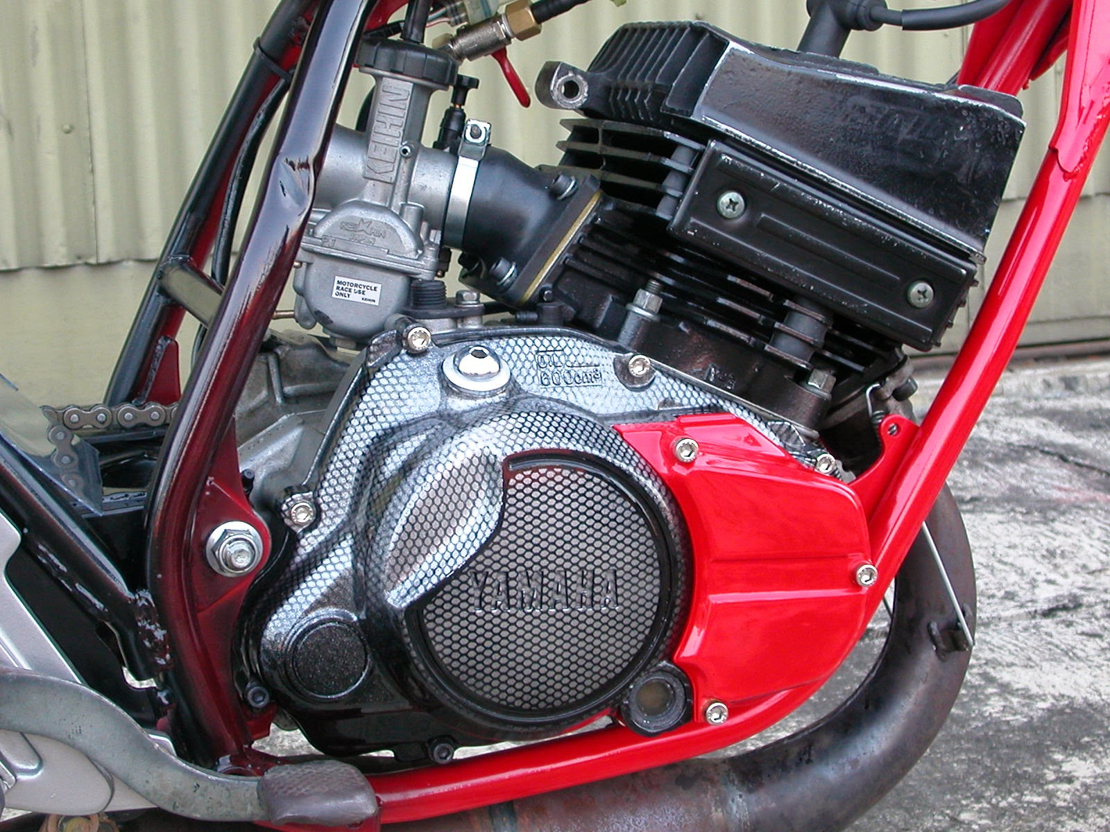 Modifikasi Honda Karisma Menjadi Trail