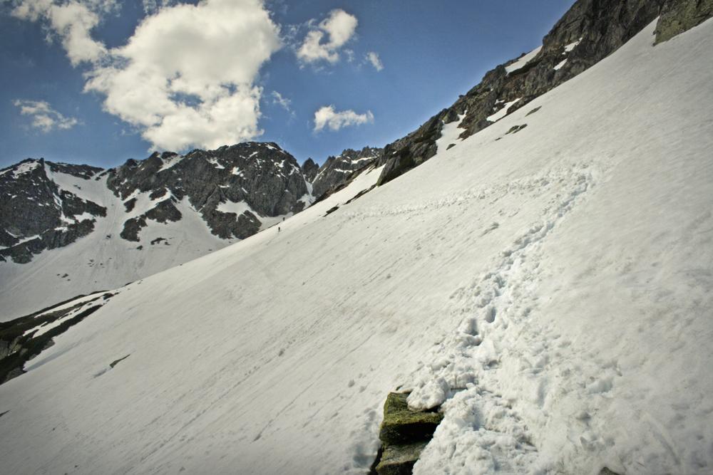 Szlak na Szpiglasową Przełęcz zimą