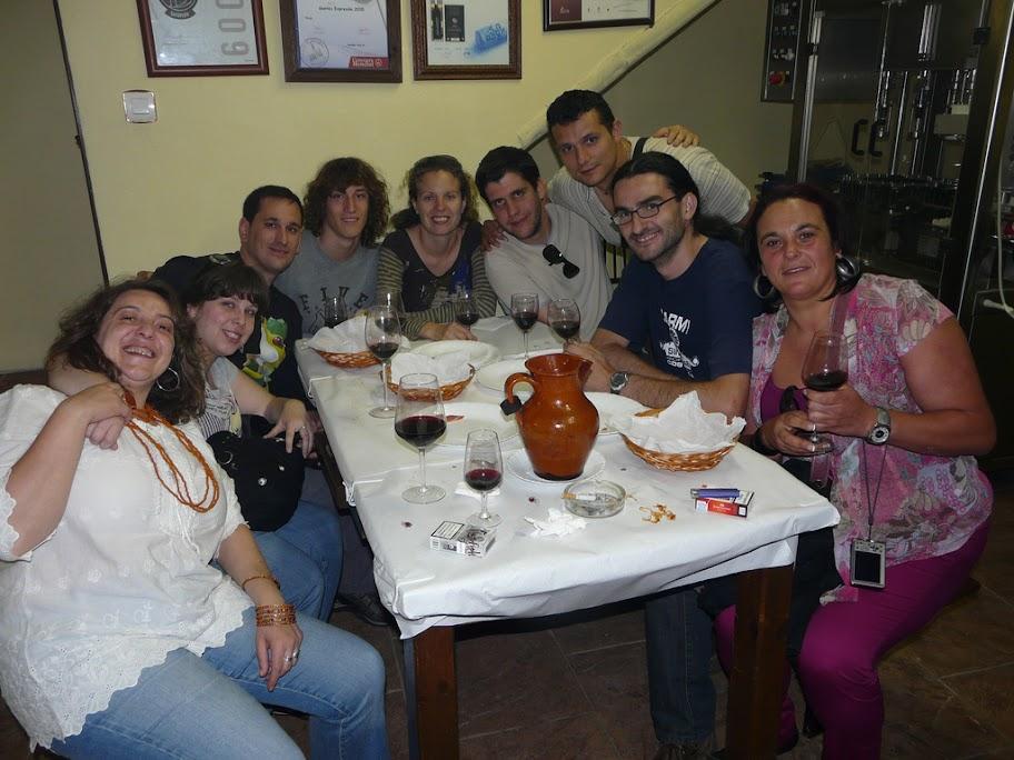 Rioja Alavesa. Bodega González Teso, Gontes, Labastida