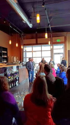 John Olson kicks off the January TeSóAria Wine Brunch