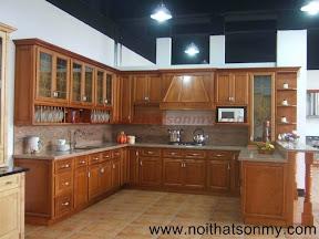 Tủ bếp gỗ đẹp 24
