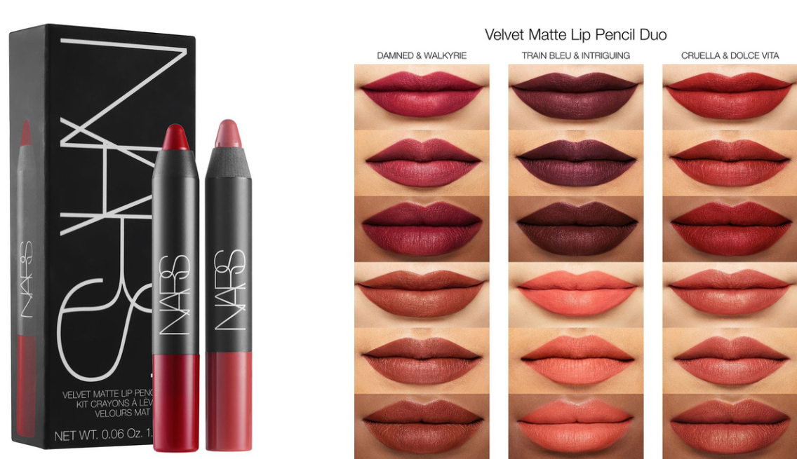 Nars Velvet Matte Lipstick Pencil Duo