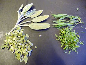sage and tarragon