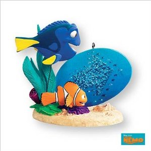 these cheerful finding nemo christmas ornaments are must have for any finding nemo fans featuring some characters form disney finding nemo movie such as - Finding Nemo Christmas Decorations