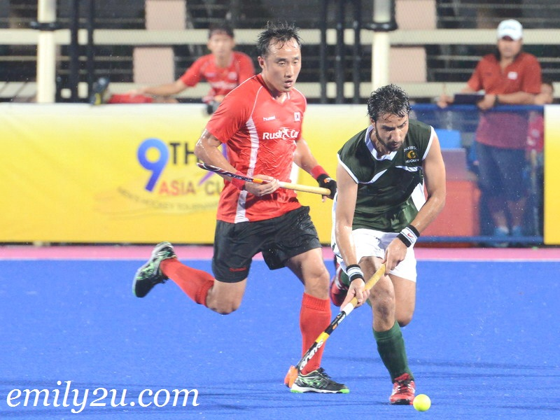 9th Asia Cup Men's Hockey Tournament 2013: Pakistan vs. Korea