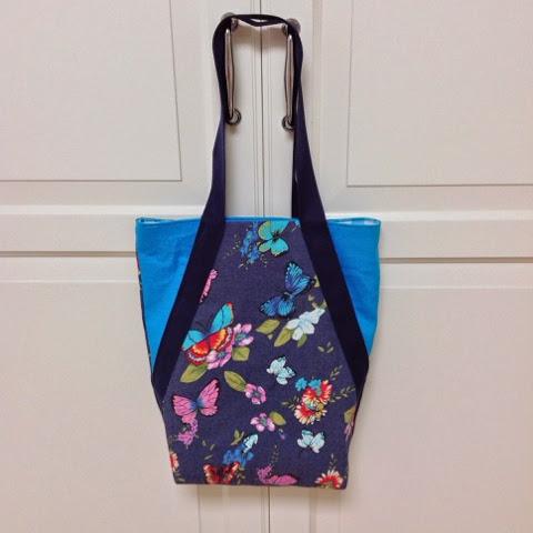 zelfgemaakte tas naaien