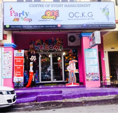 COME One Clown Party Shop