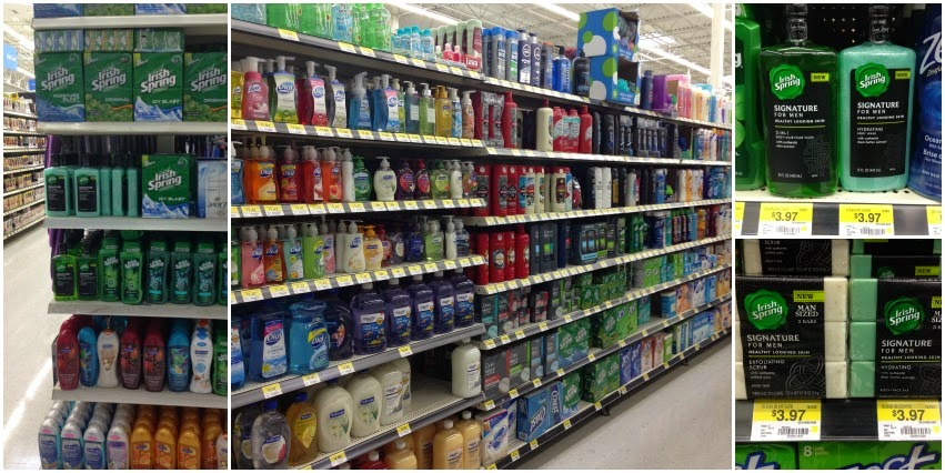 Irish Spring Signature for Men Body Wash and Bar Soap at Walmart