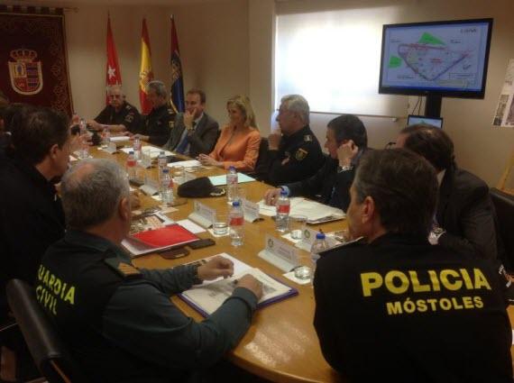 Baja la delincuencia en Alcobendas y Móstoles en lo que va de 2014