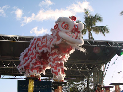 Lion Dancing Pole Lion Pole Jumping by The