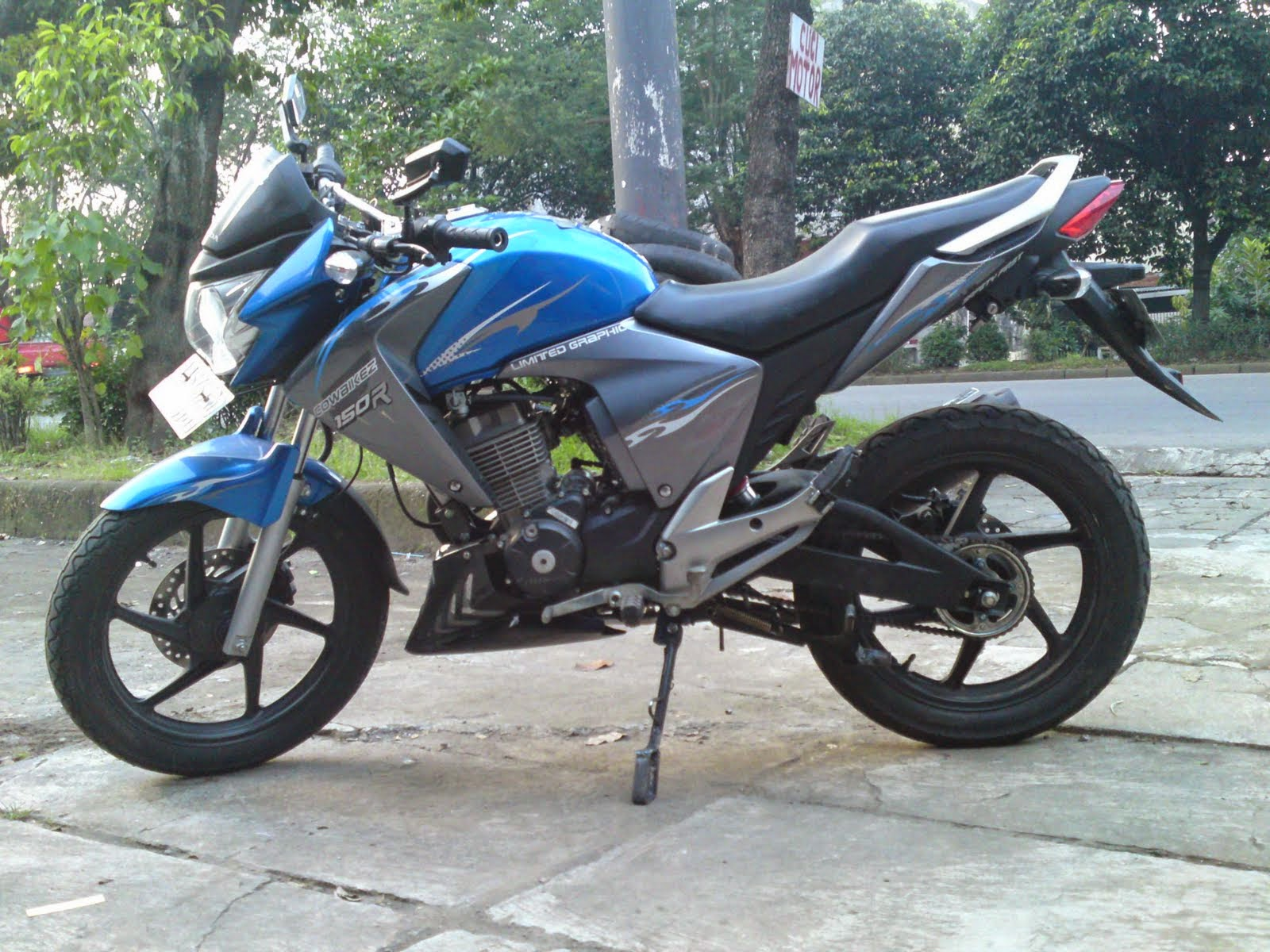megapro modifikasi 2011