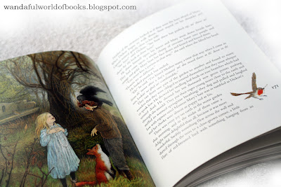 The Secret Garden, illustrated by Inga Moore, Mary and Dickon