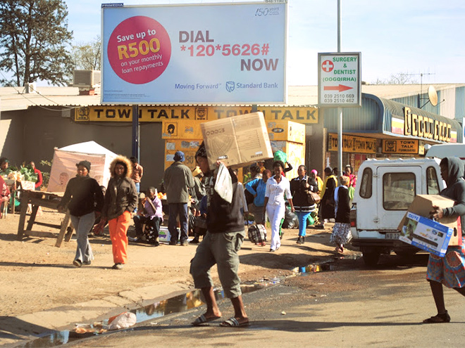 Dorpsleven in Bizana, East Cape - Zuid Afrika