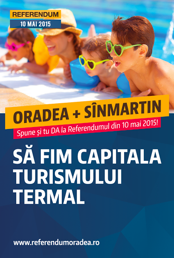 Referendum alipire a municipiului Oradea şi comunei Sînmartin #1