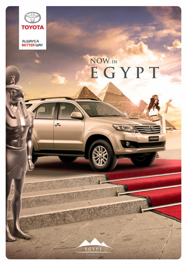 "Toyota ""Now In Egypt"" Print"