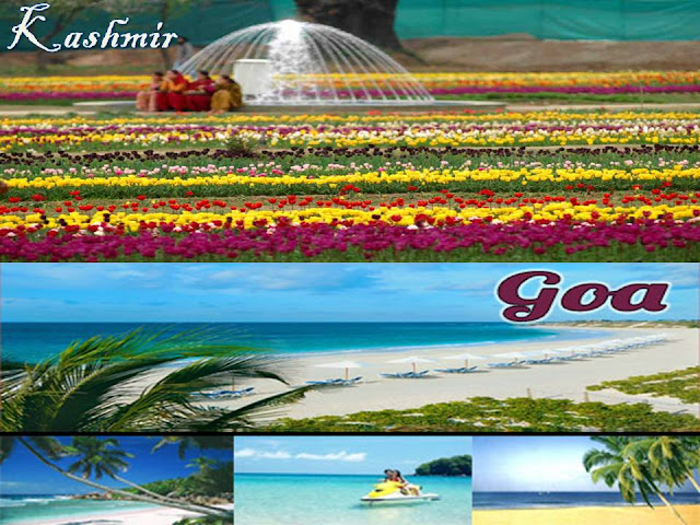 goa & kasmir tour