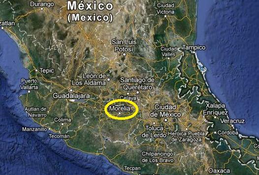 Morelia, Messico