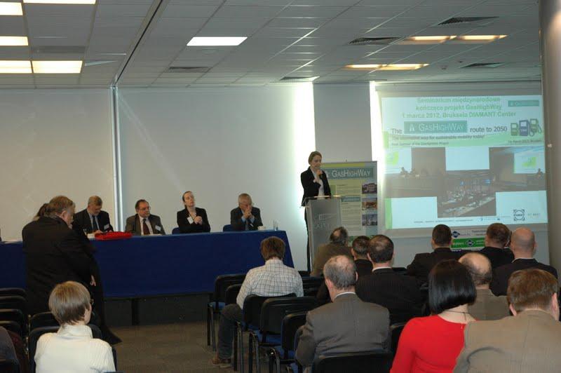 Prezentacja perspektyw wykorzystania biometanu w transporcie - Barbara Smerkowska, PIMOT