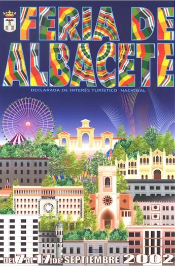 Cartel Feria Albacete 2002