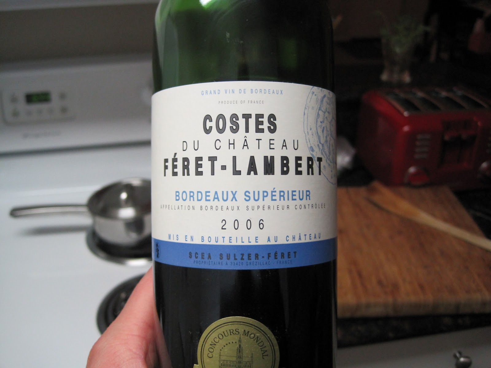 Image result for Chateau Feret Lambert Bordeaux Superieur
