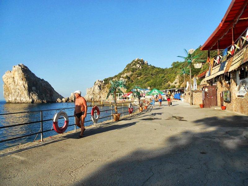 Пляжи Симеиза Отдых в Крыму 77