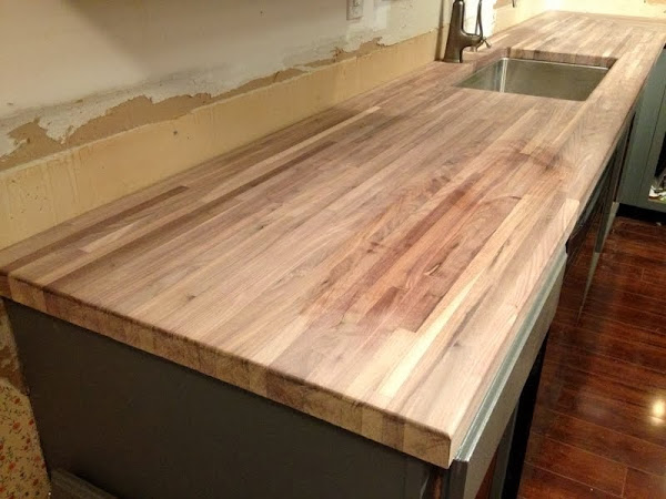 How I Protect And Clean My Butcher Block Counters The