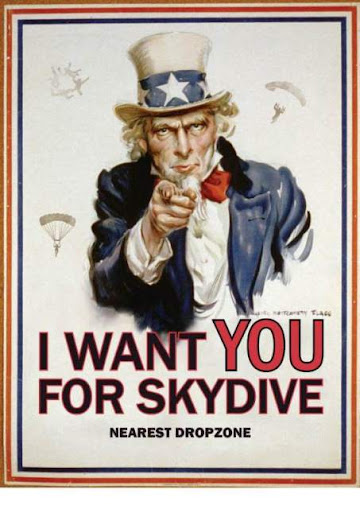 I want you for skydive!