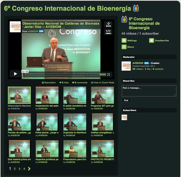 6º Congreso Intl. Bioenergía ponencias online