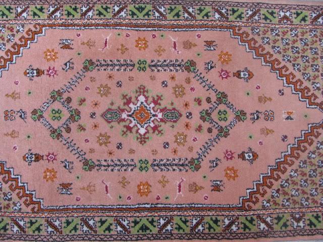 tapis ancien maroc rug