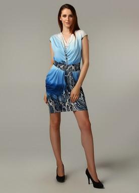 2011 model kısa elbise modeli
