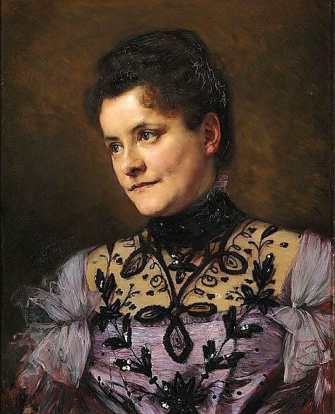 Bertha Wegmann - Portrait of Johanne Bojesen