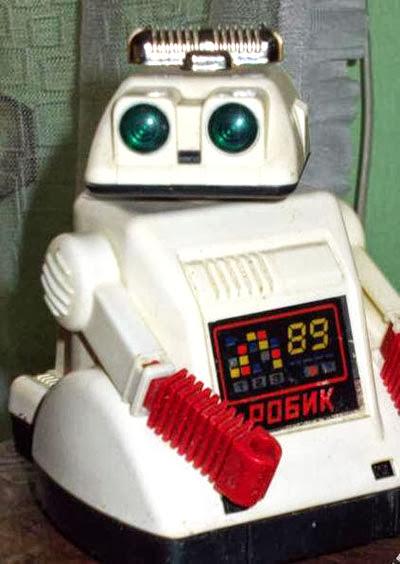 роботы, игрушки, ссср