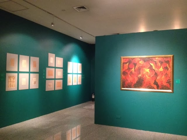 Exhibit of H.R. Ocampo's art at Ayala Museum