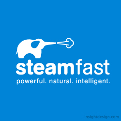 Steamfast brand logo design Kansas City