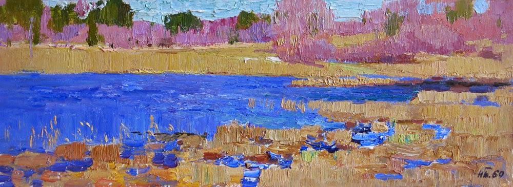 Nikolai Timkov - Spring backwater. 1960