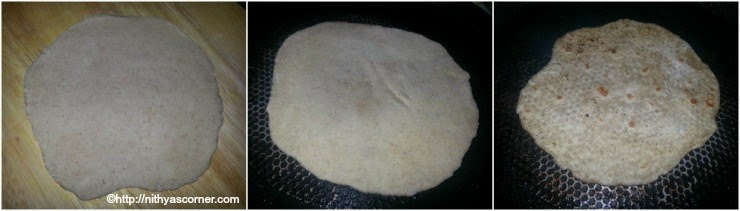how to make roti recipe