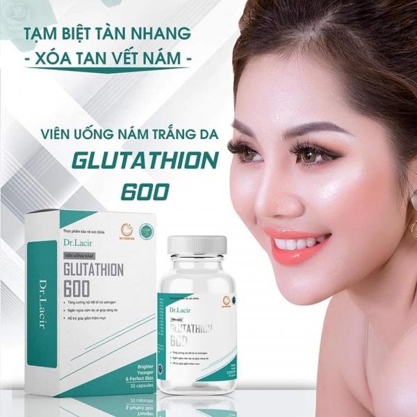 Viên nám Glutathion 600