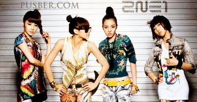 Foto Biodata Profil 2NE1, 2NE1 Girl Band Korea