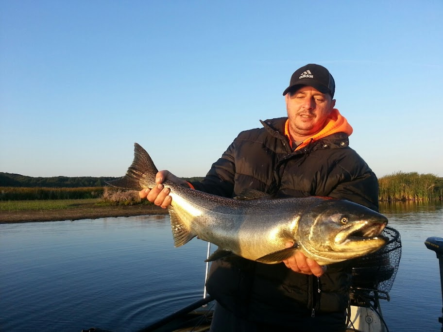 Pere Marquette River King Salmon Fishing Guide Trips